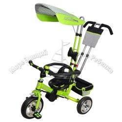 Велосипед Profi Trike 0450-3 зеленый с усиленной ручкой