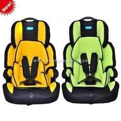 """Автомобильное кресло детское М 0558 """"Bambi"""" с ручкой. Усовершенствованная новинка 2013 года"""
