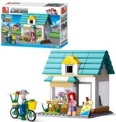 Конструктор детский Цветочный магазин 149 деталей  M38-B0570 SLUBAN