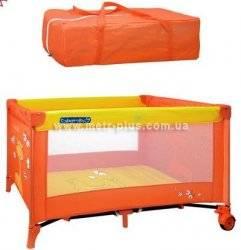 Манеж - кровать 2 в 1 в сумке Bambi М0604 унисекс