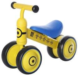 Спортивный Беговел детский Minion 1004