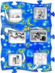 """Пазлы-рамки на магнитах ТМ """"Забавка"""", """"Звезды"""", """"Море"""" 1538, 1539"""