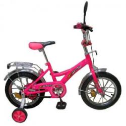 """Велосипед двухколесный 1634 розовый 16"""""""