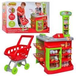 Магазин Супермаркет Smart музыкальный с тележкой и кассой 1680622 HTI, Великобритания