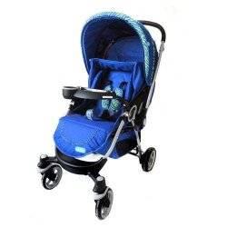 Коляска детская прогулочная CAROTA C 218 ST-4 синяя