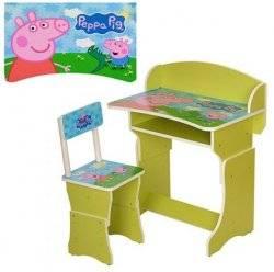 Детская парта для дома Свинка Пеппа 301-13 Vivast