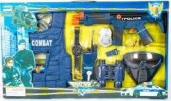 Набор полицейского 33530 с биноклем, маской, автоматом и жилетом