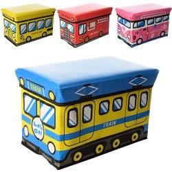 Пуф детский Транспорт малый 3524