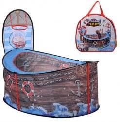 Палатка-манеж Корабль с баскетбольным кольцом 3758