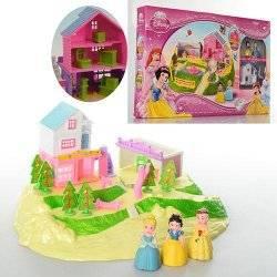 Принцессы с домом, мебелью и двором 3947