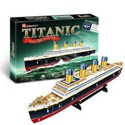 "3D Пазл CubicFun ""Титаник "" Т4012"