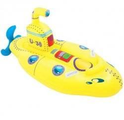 Плотик надувной жёлтая субмарина с ремкомплектом 41098 Bestway