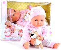 """Кукла интерактивная """"Дочки матери"""" с волшебным мишкой 5239 Joy Toy"""