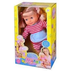 Кукла Мила делает сальто, прыгает, разговаривает 5280