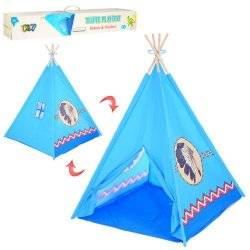 Палатка игровая Вигвам голубая 5496