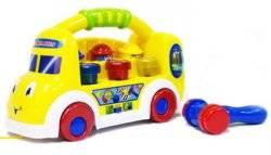"""Стучалка-грузовичок музыкальная обучающая """"Посчитай до 10"""" 7070 Joy Toy"""