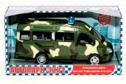 """Машина инерционная музыкальная """"Газель"""" военная 9098 Joy Toy"""