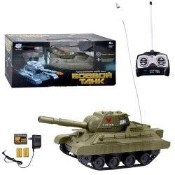 Танк боевой радиоуправляемый аккумуляторный Joy Toy 9342 стреляет пульками