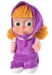 Кукла-мультгерой Маша музыкальная в фиолетовом 97276