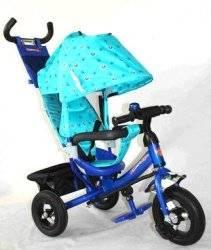 Велосипед Azimut Trike Air с надувными колесами BC-17B синий