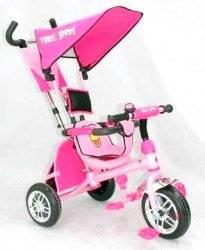 """Велосипед LEXUS TRIKE BIRDS трехколесный BC-15 AB """"Baby clab"""" розовый"""