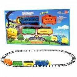 Железная дорога радиоуправляемая музыкальная ZY3022