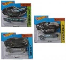 Машинки металлические Хот Вилс Hot Wheels черная