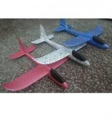Самолет планер из пенопласта  маленький 32 см 2019