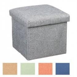 Тумба-пуф для хранения игрушек 25 см Куб R88093 малый